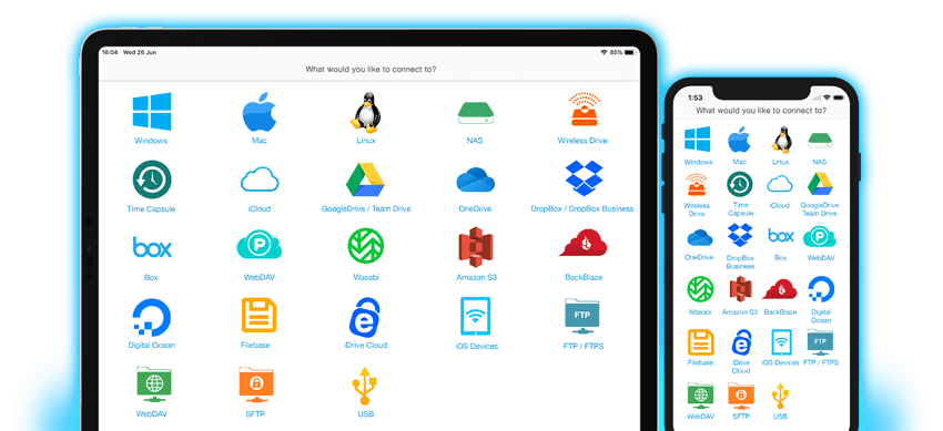 One app to access all your files