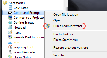 Enabling the Administrator account